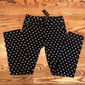 WHBM Polka Dot Jeans Size 0 Regular